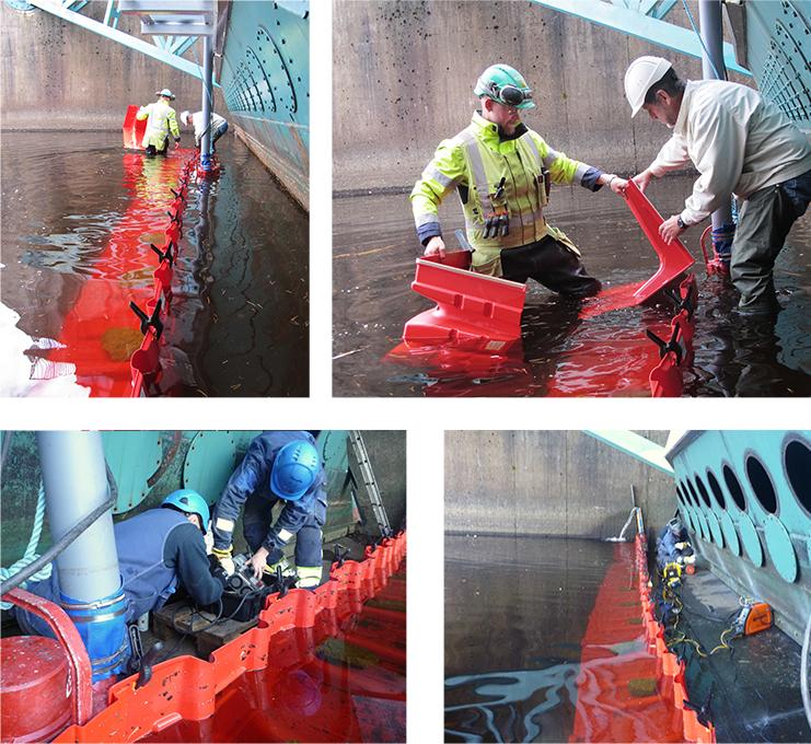 NOAQ Boxwall Mobiler Hochwasserschutz