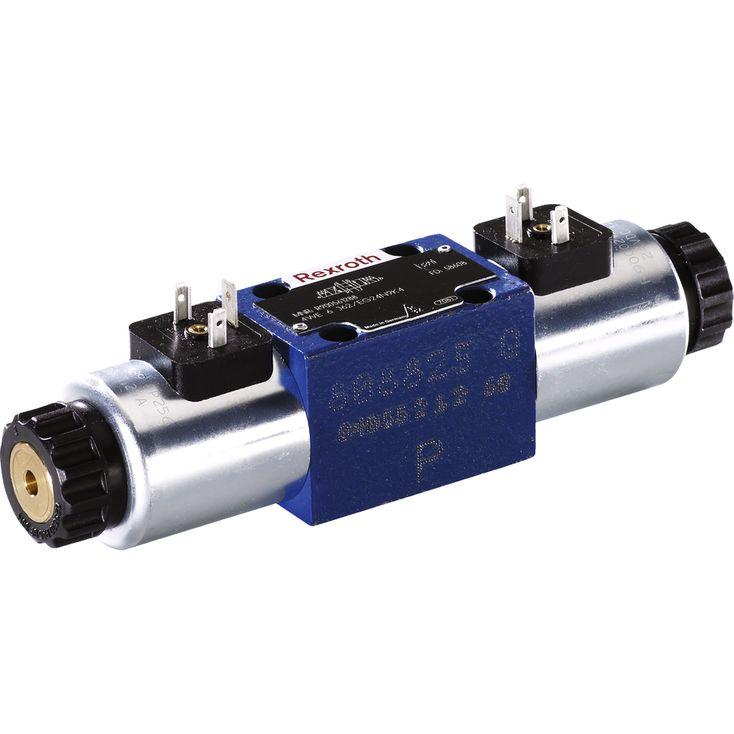 Wege-Schieberventile, direktgesteuert, mit Magnetbetätigung Bosch Rexroth